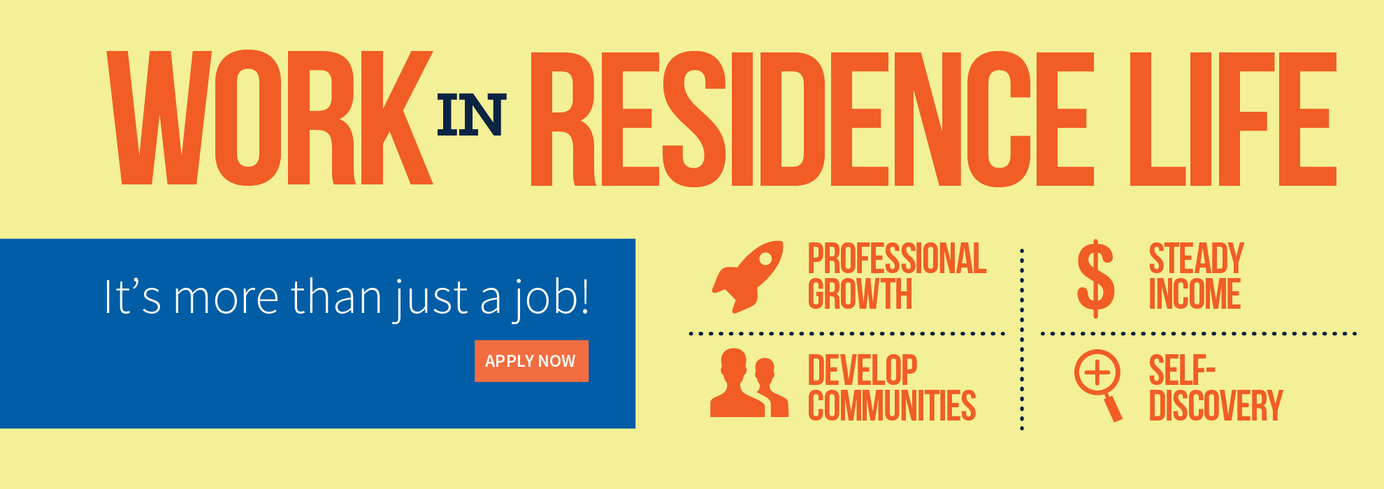 Work in Residence Life