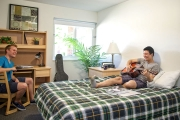 Spacious one bedroom suite at UBCO, Monashee Place.