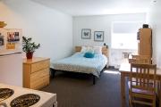 Studio suite, UBCO Monashee Place.