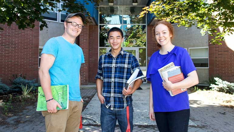 Returning students in residence