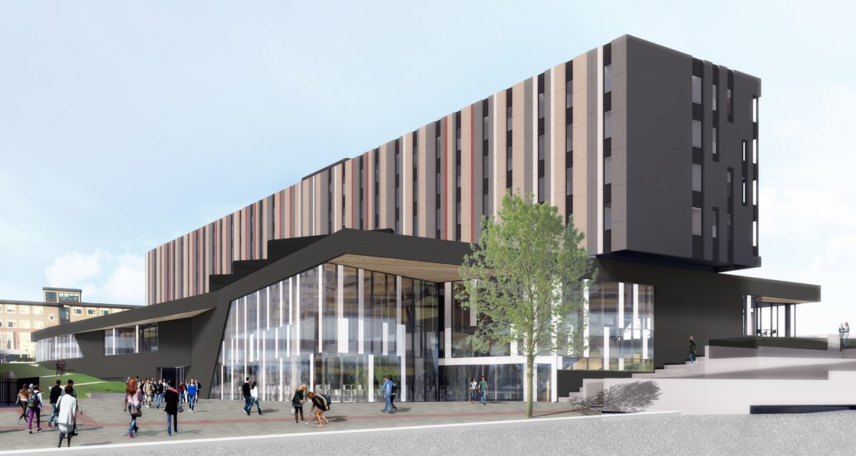 Architectural Rendering of Nechako Housing Commons