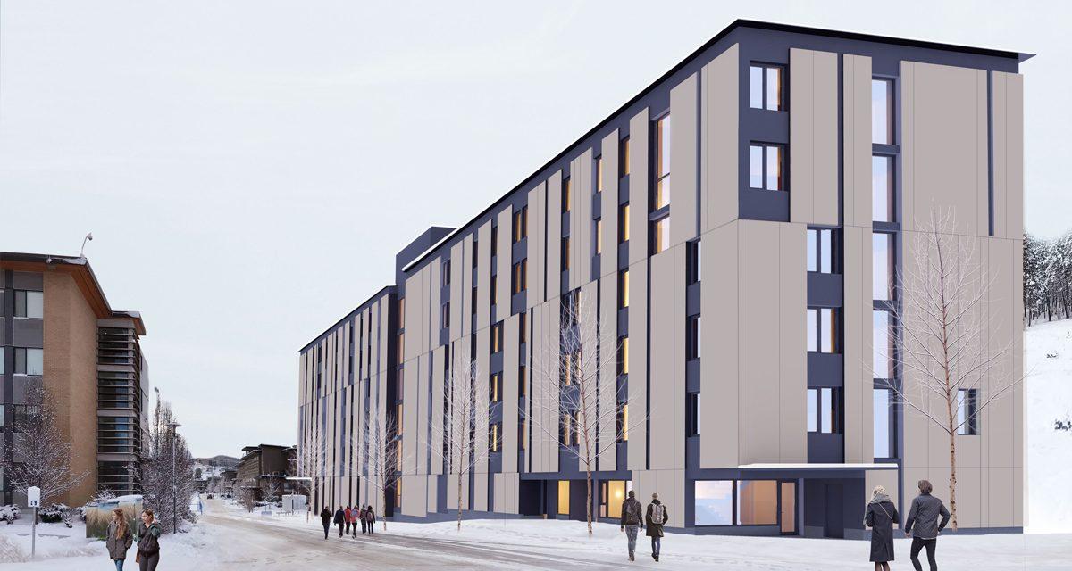 Architectural Rendering of Skeena Residence